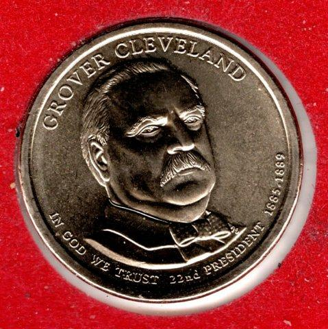 2012 D Presidential Dollars: Grover Cleveland -#3