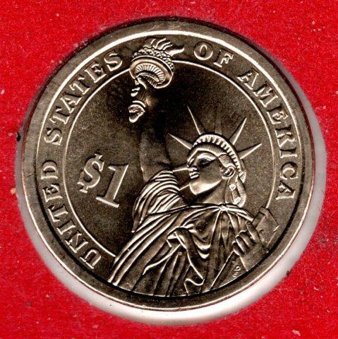 2012 D Presidential Dollars: Grover Cleveland -#4