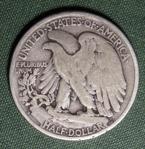 1941D Walking Liberty Half Dollar