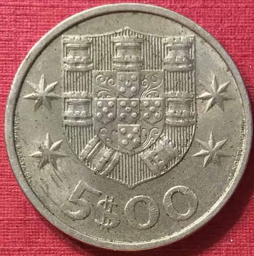 Portugal 1980 - 5 Escudos
