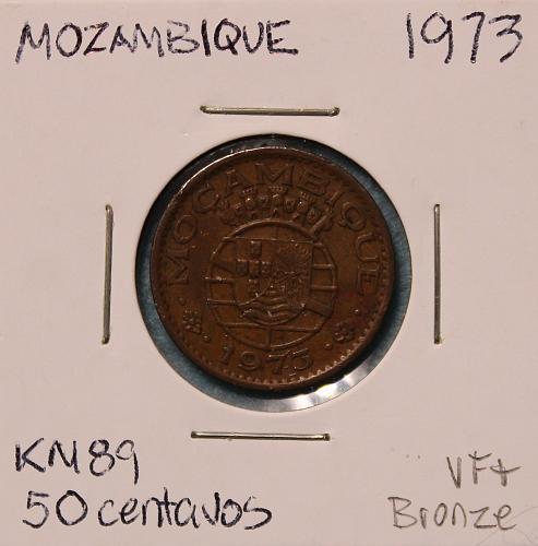 Mozambique 1973 50 centavos