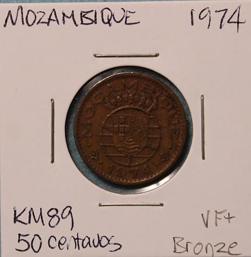 Mozambique 1974 50 centavos