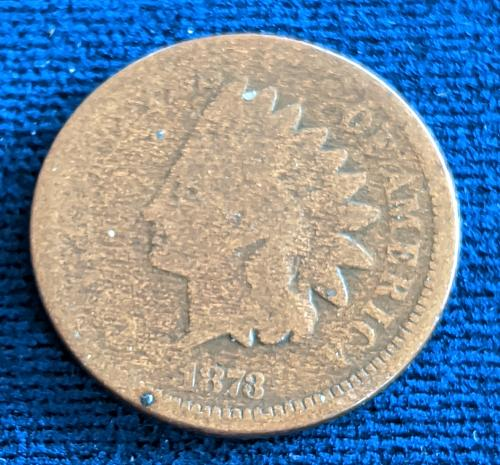 1873 CLOSED 3 AG INDIAN CENT
