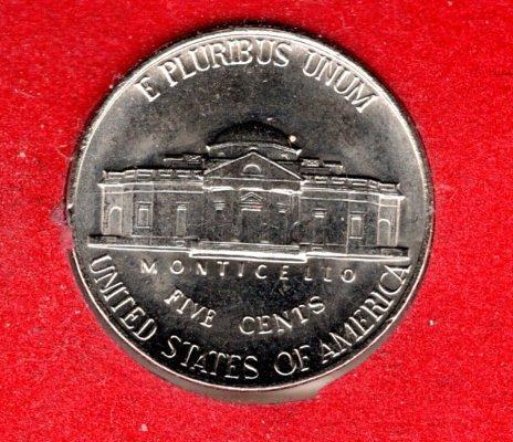 1990 P Jefferson Nickels - #3