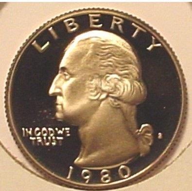 1980-S Proof DCAM Washington Quarter PF65 #0461