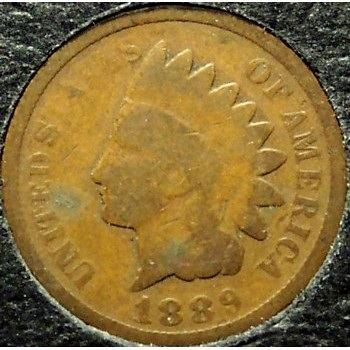 1889 Indian Head Penny G4 #0470