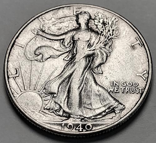 1940 Walking Liberty Half Dollar [WL 194]