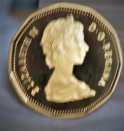 """1987 Canada """"Loonie"""" One Dollar Proof - CAMEO"""