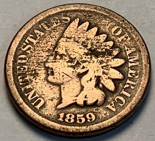1859 Indian Head Cent [IC 23]
