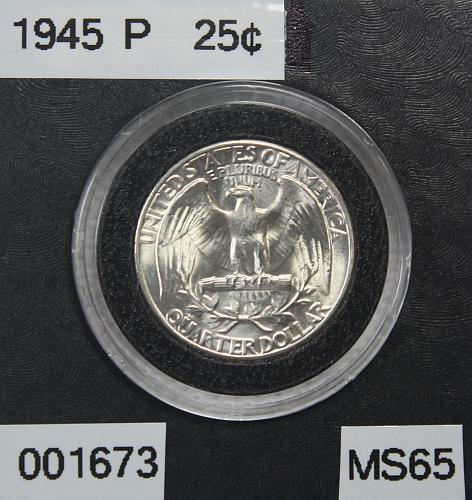 1945 P Washington Quarter