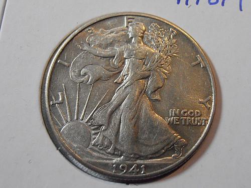 1941 P Walking Liberty Half Dollar (41POP1)
