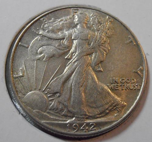 1942 P Walking Liberty Half Dollar (42POP1)