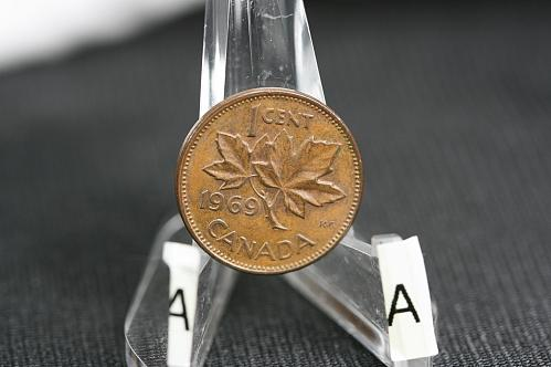1969  Canada small cent