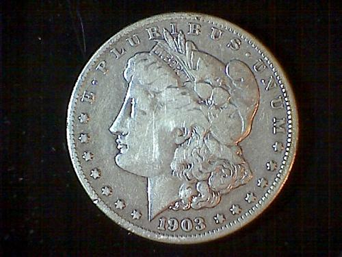 1903-s Morgan Dollar