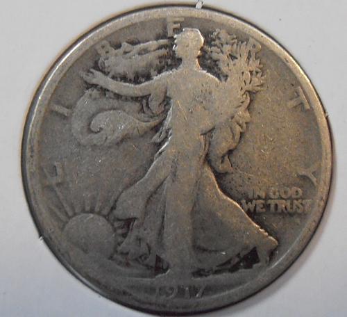 1917 P Walking Liberty Half Dollar (17PAC5)