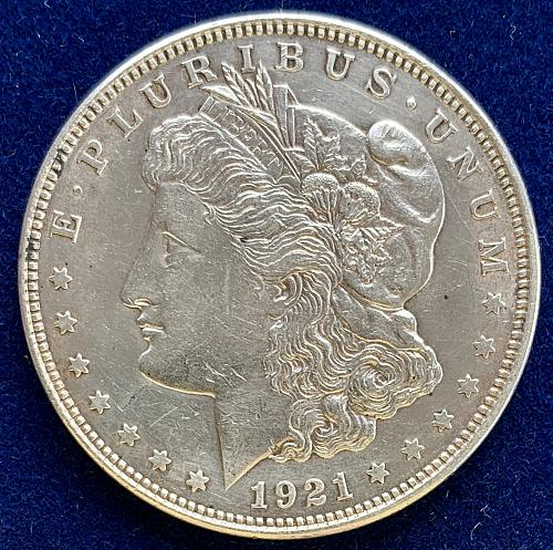 1921 P Morgan Dollar. Nice Coin, take a look