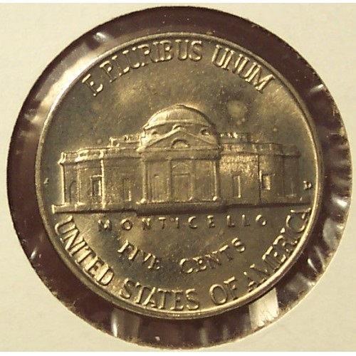 1960-D Jefferson Nickel BU #0531