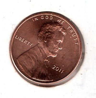 2011 P Lincoln Shield Cent Small Cents -#4