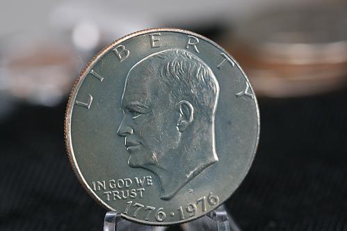 1976 D Eisenhower dollar type 1  BU