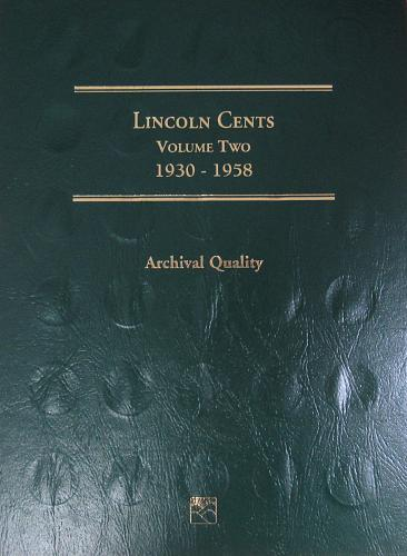 Lincoln Cents Volume Two 1930 - 1958