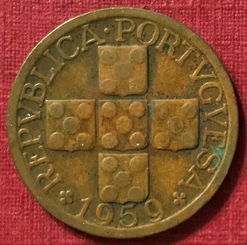 Portugal 1959 - 20 Centavos