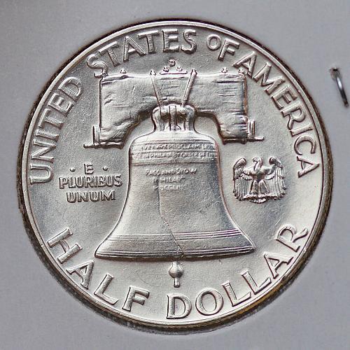 Superb - 1950 D Franklin Half Dollar - Gem BU / MS / UNC - FBL / Full Bell Lines