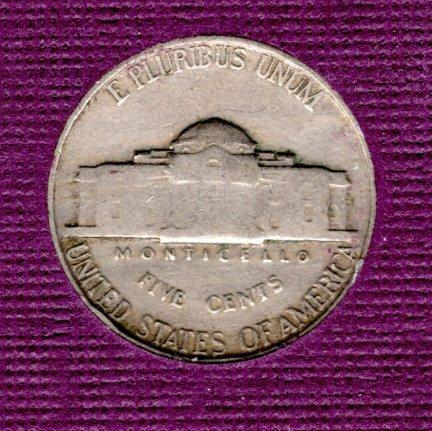 1939 P Jefferson Nickels -#5
