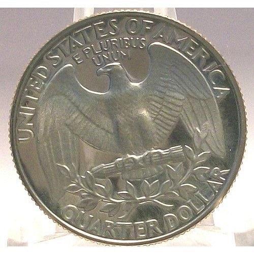 1982-S DEEP CAMEO Proof Washington Quarter #0608