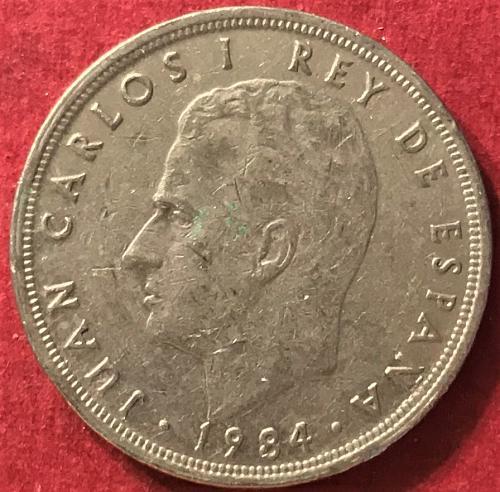 Spain 1984 - 5 Pesetas [#1]