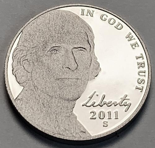 2011-S Proof Jefferson Nickel [SVB 78]