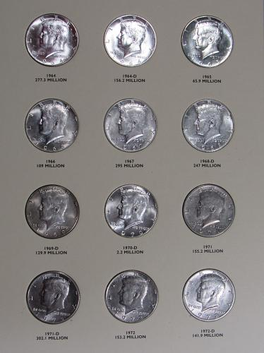 Kennedy Half Dollars Volume One 1964-1985