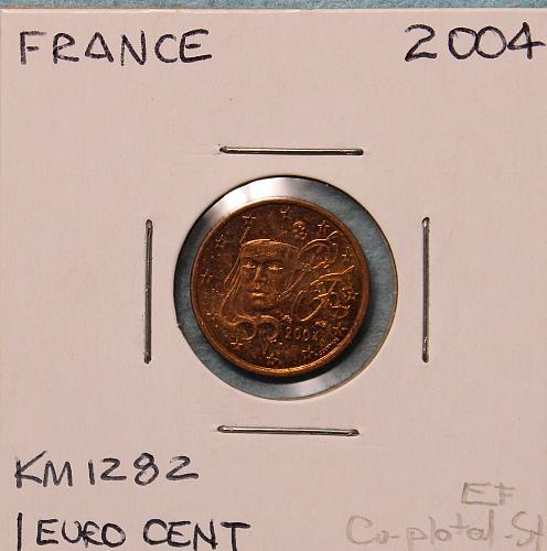 France 2004 1 euro cent