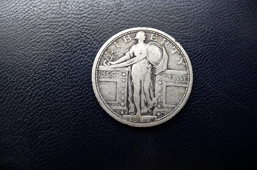 1917-D Standing Liberty Quarter