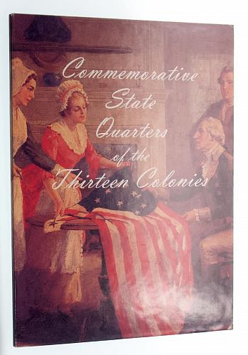 Commemorative State Quarters of the 13 Colonies