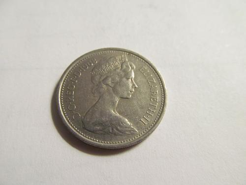Great Britain 1968  5 New Pence  191-5