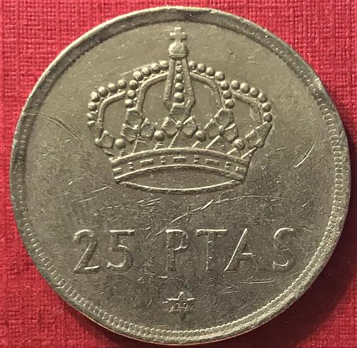 Spain 1975 (1979) - 25 Pesetas