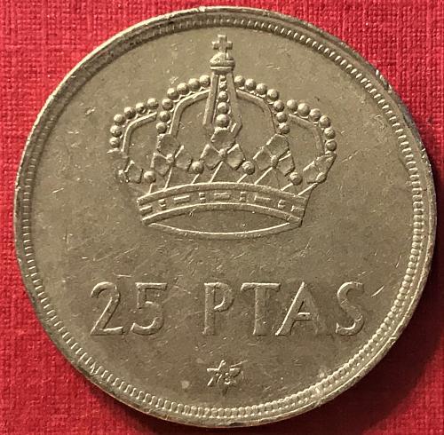 Spain 1975 (1978) - 25 Pesetas