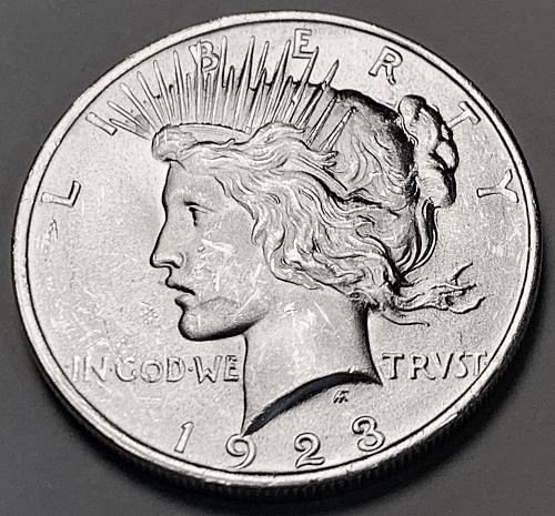 1923 Peace Dollar BU [PDL 60]