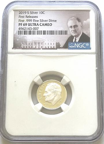 2019-S 10c Silver Roosevelt