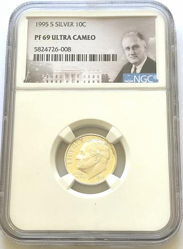 1998-S 10c Silver Roosevelt