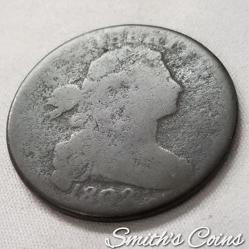 1802 Draped Bust Large Cent ~ Fair