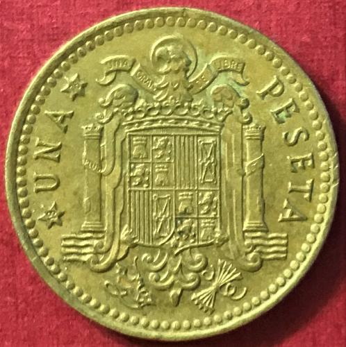 Spain 1975 (1976) - 1 Peseta [#1]