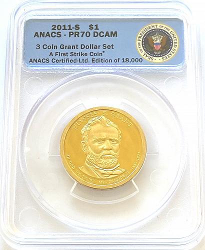 2011-S $1 Ulysses Grant