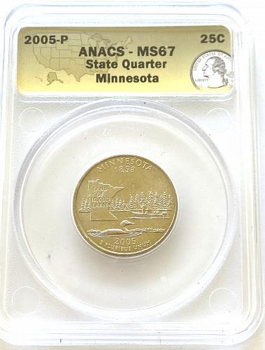 2005-P 25c Minnesota