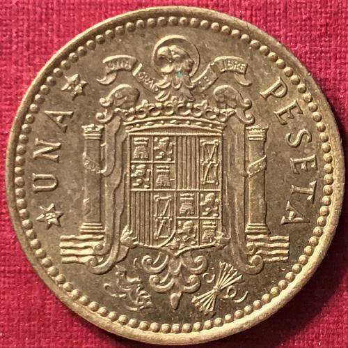 Spain 1966 (1974) - 1 Peseta [#1]
