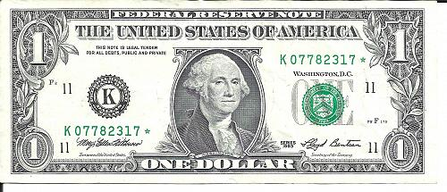 1993       FEDERAL RESERVE ****STAR**** NOTE