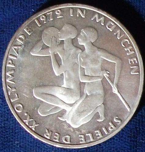 1972J Germany/Fed. Rep. 5 Mark UNC