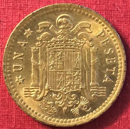 Spain 1966 (1968) - 1 Peseta