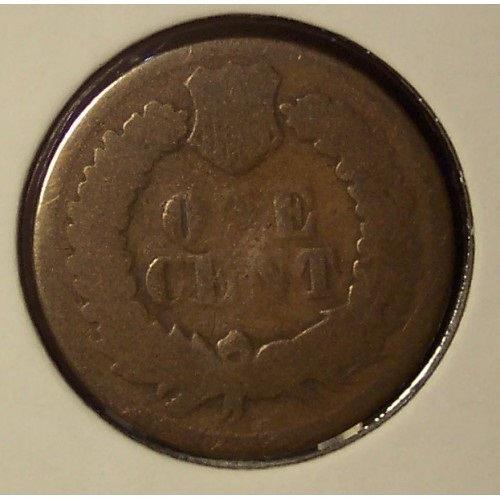 1868 Indian Head Cent AG #0686
