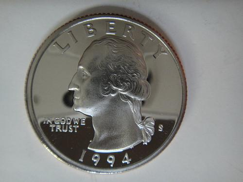 1994-S Clad Washington Quarter Proof-66 (GEM+)